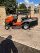HUSQVARNA CTH 126 CLEAN MACHINE LAWN MOWER, EX DEMO CONDITION *PLUS VAT*