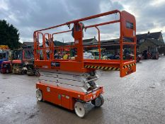 2018 SNORKEL S3226E ELECTRIC SCISSOR LIFT, DRIVES AND LIFTS, CLEAN MACHINE, EX DEMO CONDITION