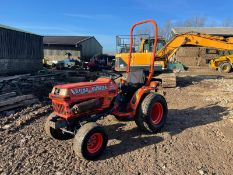 KUBOTA B1750 COMPACT TRACTOR, RUNS AND DRIVES, CLEAN MACHINE, CANOPY *NO VAT*
