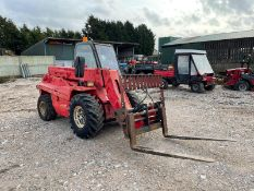 MANITOU BUGGISCOPICS FORKLIFT, RUNS, DRIVES AND LIFTS, IN USED BUT GOOD CONDITION *PLUS VAT*