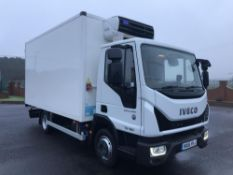 2016/16 REG IVECO EUROCARGO 75E16P REFRIGERATED LORRY EURO 6 NEW MODEL, AUTOMATIC GEARBOX *PLUS VAT*