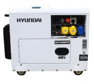 BRAND NEW AND UNUSED HYUNDAI DHY6000SE GENERATOR, DIESEL ENGINE, CAN DELIVER AT A COST *NO VAT*
