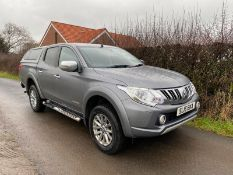 2016/16 REG MITSUBISHI L200 WARRIOR DOUBLE CAB DI-D 2.5 DIESEL PICK-UP, SHOWING 0 FORMER KEEPERS