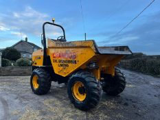 2015 JCB 9TFT DUMPER, RUNS, DRIVES AND TIPS, IN USED BUT GOOD CONDITION, ROLL BAR, 9 TON *PLUS VAT*