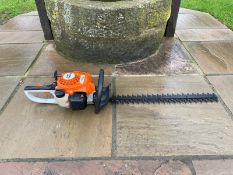 """BRAND NEW AND UNUSED STIHL HS45 HEDGE CUTTER, 24"""" BLADE, C/W MANUAL AND BLADE GUARD *NO VAT*"""