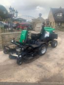 RANSOMES HR3806 OUT FRONT RIDE ON LAWN MOWER, RUNS, DRIVES AND CUTS *PLUS VAT*