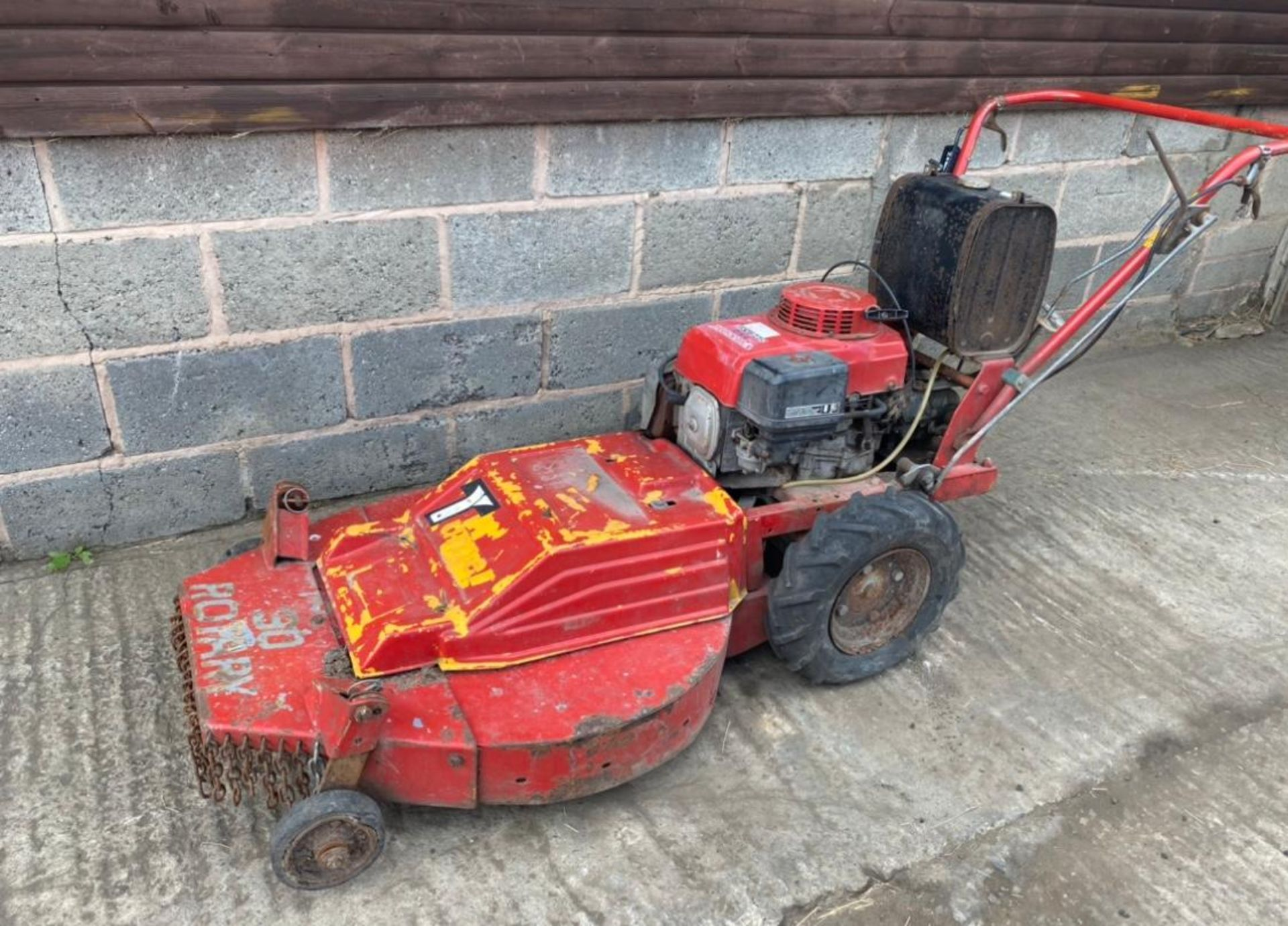 HONDA GV340 WALK BEHIND MOWER, SELF PROPELLED *PLUS VAT* - Image 2 of 3