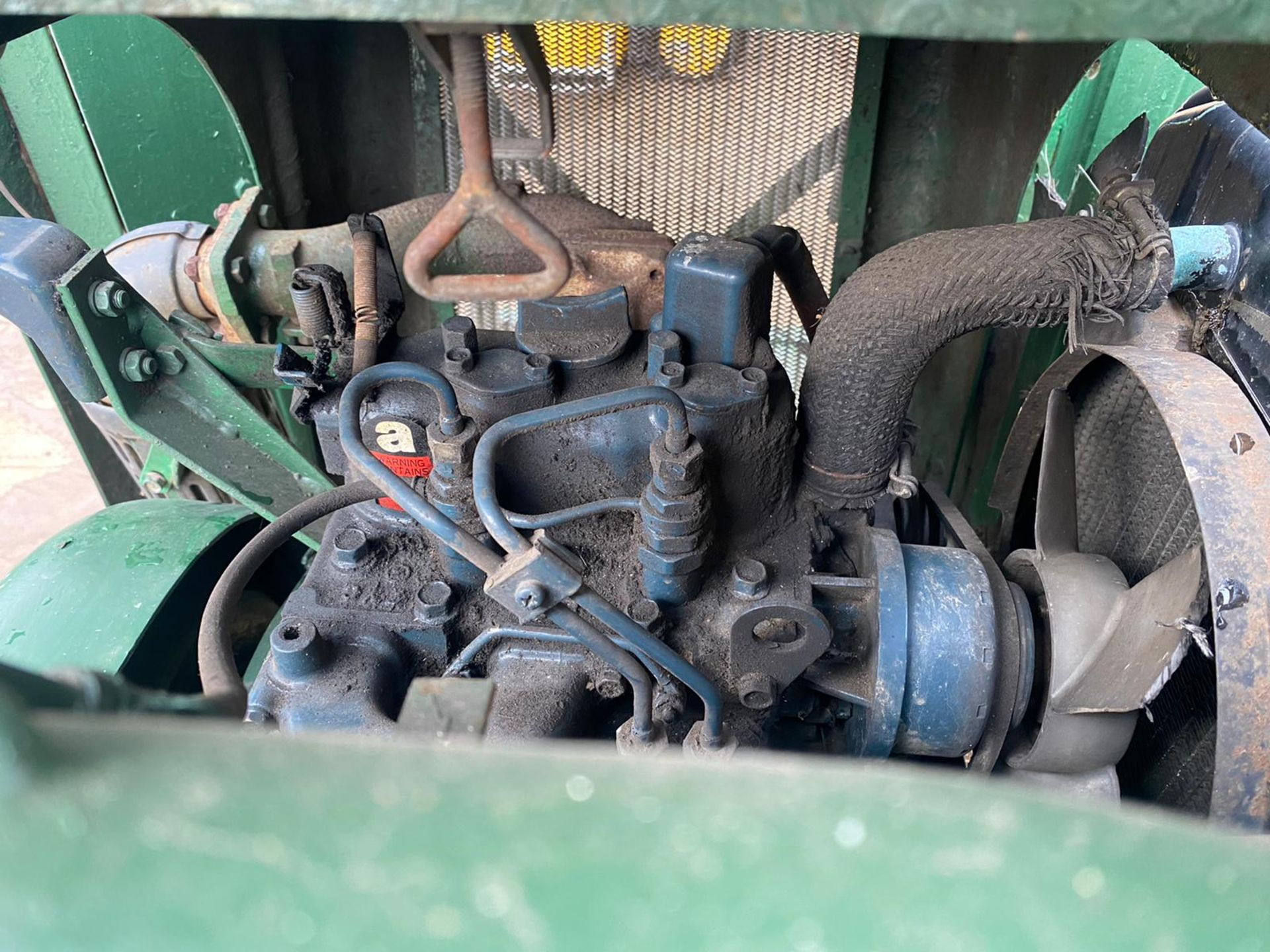 RANSOMES MOTOR TRIPLE DIESEL MOWER, KUBOTA DIESEL ENGINE, STARTS, FIRST TIME, RUNS, DRIVES, CUTS - Image 3 of 5