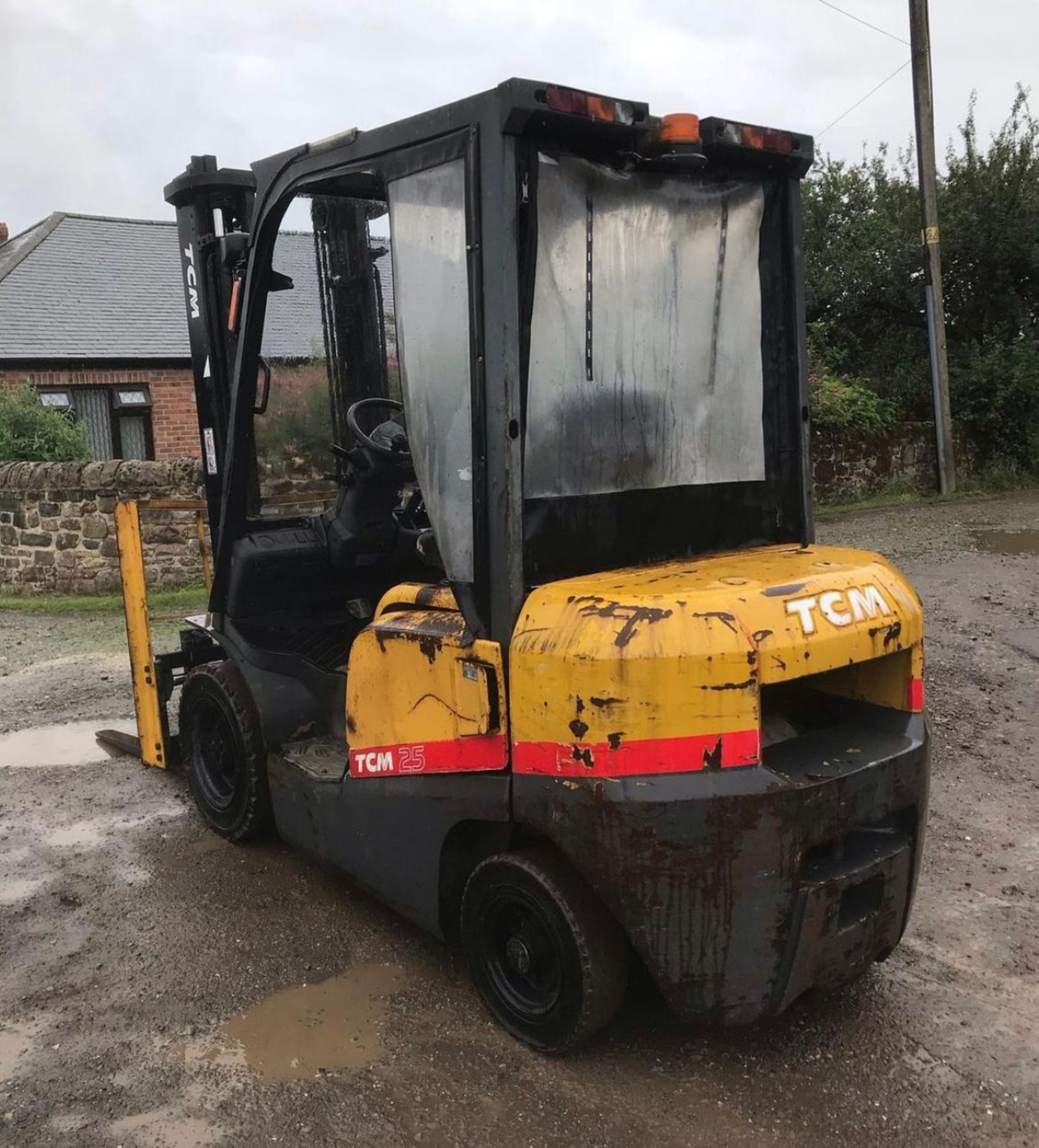 2007 TCM 25 FORKLIFT, RUNS, DRIVES AND LIFTS, 2.5 TON, SIDE SHIFT, LOW 7700 HOURS *PLUS VAT* - Image 5 of 5