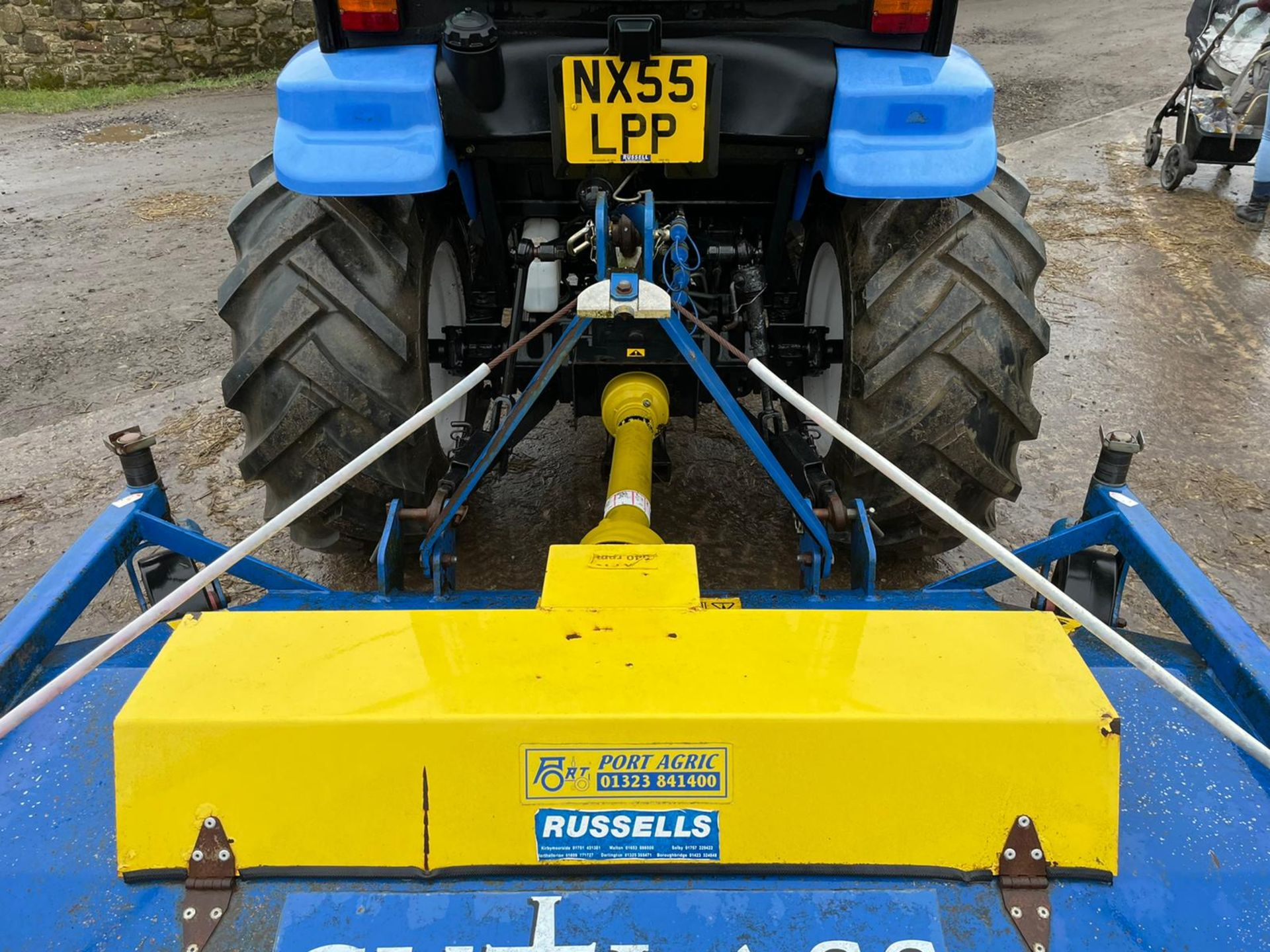 2006/55 New Holland TC40D Tractor With Loader And Bale Spike *PLUS VAT* - Image 13 of 23
