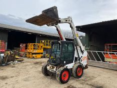 2014 BOBCAT S550 SKIDSTEER, RUNS, DRIVES AND LIFTS, IN USED BUT GOOD CONDITION *PLUS VAT*