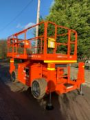 2010 JLG 260MRT SCISSOR LIFT, IN USED BUT GOOD CONDITION, 4WD, LOW 1920 HOURS *PLUS VAT*