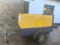 COMPAIR COMPRESSOR, STARTS, RUNS OUTPUTS AIR, DELIVERY ANYWHERE UK £300 *PLUS VAT*
