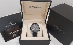 TAG HEUER FORMULA 1 41mm Titanium & Steel Chronograph Mens Watch *NO VAT*