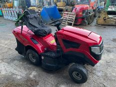 MOUNTFIELD 1636H RIDE ON MOWER, RUNS, DRIVES AND CUTS, IN USED BUT GOOD CONDITION *NO VAT*