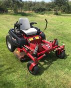 FERRIS IS1000Z ZERO TURN MOWER, RUNS, DRIVES AND CUTS, LOW 778 HOURS, USED BUT GOOD CONDITION