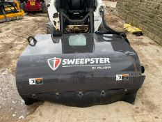 SWEEPSTER BY PALADIN, HYDRAULIC DRIVEN, EX DEMONSTRATOR - LIKE NEW, BRUSHES - LIKE NEW *PLUS VAT*