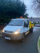 2010/10 REG IVECO DAILY 65C18 3.0 DIESEL WHITE TIPPER 6.5 TONNE, SHOWING 0 FORMER KEEPERS *PLUS VAT*