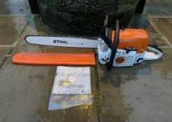 """BRAND NEW AND UNUSED, STIHIL MS391 CHAINSAW, 20"""" BAR & CHAIN, MANUAL AND BAR COVER INCLUDED *NO VAT*"""