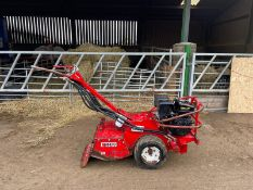 BARRETO 1320 WALK BEHIND ROTAVATOR, RUNS, DRIVES AND WORKS, IN USED BUT GOOD CONDITION *NO VAT*