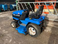 NEW HOLLAND GT75 RIDE ON MOWER, RUNS, DRIVES AND CUTS, 3 CYLINDER SHIBAURA DIESEL ENGINE *NO VAT*