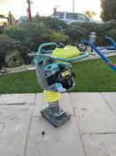 2017 AMMANN ACR 68 TRENCH RAMMER, SOLD NEW IN 2018, RUNS AND WORKS, IN GOOD CONDITION *NO VAT*
