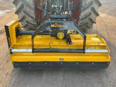 2015 MUTHING MU-H 160-31 FLAIL MOWER, SUITABLE FOR 3 POINT LINKAGE, ALL WORKS *PLUS VAT*