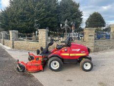 2012 SHIBAURA CM374 OUTFRONT RIDE ON MOWER, RUNS, DRIVES AND CUTS, IN USED BUT GOOD CONDITION