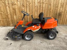 2015 HUSQVARNA R216 4WD RIDE ON MOWER, DIRECT EX COUNCIL, ONLY 544 HOURS *PLUS VAT*