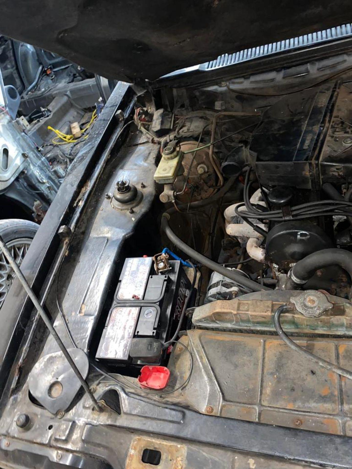 1986/C REG FORD CAPRI LASER AUTO 2.0 PETROL BLACK 3 DOOR *NO VAT* - Image 20 of 32