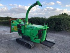 2014 GREENMECH ARBTRACK 150-35 TRACKED CHIPPER, RUNS, DRIVES AND CUTS, 795 HOURS *PLUS VAT*
