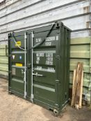 EXCELLENT SHIPPING CONTAINER DOORS / COMPLETE END FROM CONVERSION JOB *PLUS VAT*