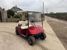 EZGO GOLF BUGGY, RUNS AND DRIVES, PETROL ENGINE *PLUS VAT*