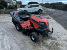 HUSQVARNA TC338 RIDE ON MOWER, RUNS, DRIVES AND CUTS, IN GREAT CONDITION, LOW 110 HOURS *NO VAT*