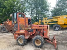 DITCH WITCH 2310 TRENCHER, RUNS AND WORKS, SHOWING 768 HOURS *PLUS VAT*