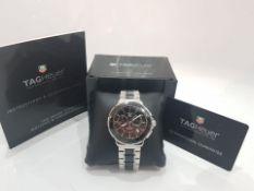 TAG HEUER FORMULA 1 41mm Ceramic & Steel Chronograph Mens Watch *NO VAT*
