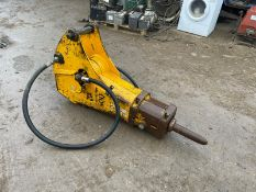 JCB HAMMERMASTER 3600 BREAKER, SUITABLE FOR 3CX, IN USED BUT GOOD CONDITION *PLUS VAT*