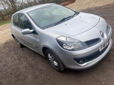 2007/07 Renault Clio - NO VAT - NO RESERVE1.5 DciMot as online onlyV5 and 2 keysStarts and