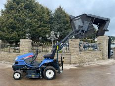 2010 ISEKI SXG19 RIDE ON MOWER, RUNS, DRIVES AND CUTS, IN USED BUT GOOD CONDITION *PLUS VAT*