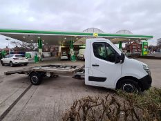 2017/17 REG NISSAN NV400 SE DCI 2.3 DIESEL WHITE BEAVERTAIL RECOVERY TRUCK, SHOWING 3 FORMER KEEPERS