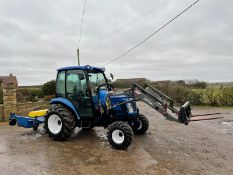 2006/55 New Holland TC40D Tractor With Loader And Bale Spike *PLUS VAT*