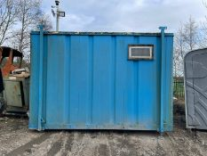 TOILET BLOCK WITH SINKS AND TOILETS INSIDE, GOOD CONDITION, EX COUNCIL *PLUS VAT*