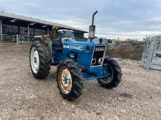 FORD 4600 TRACTOR, RUNS AND DRIVES, GOOD SET OF TYRES, IN USED BUT GOOD CONDITION, LOW 1630 HOURS