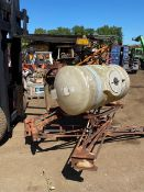 NO RESERVE! 7 METER SPRAYER TO SUIT TRACTOR, FITS ON 3 POINT LINKAGE *PLUS VAT*