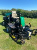 RANSOMES HR3806 OUT FRONT MOWER, RUNS, DRIVES AND CUTS, 38HP 3 CYLINDER KUBOTA ENGINE *PLUS VAT*