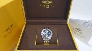 BREITLING CHRONOMAT STEEL & GOLD BI-METAL 40mm MENS WATCH NO VAT