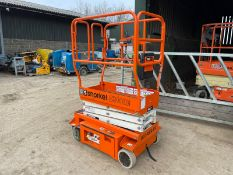 2018 SNORKEL S3010E ELECTRIC SCISSOR LIFT, SOLD NEW IN 2019, DRIVES AND LIFTS *PLUS VAT*