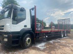 2009/09 REG IVECO STRALIS AD260S31Y/PT DAY BEAVERTAIL PLANT LORRY, SHOWING 1 FORMER KEEPER *PLUS VAT