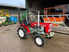 YANMAR YM1300D COMPACT TRACTOR, RUNS AND DRIVES, IN USED BUT GOOD CONDITION *PLUS VAT*