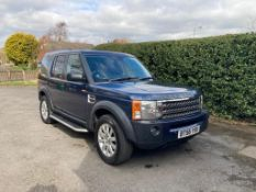 2007/56 REG LAND ROVER DISCOVERY 3 TDV6 SE AUTOMATIC 2.7 DIESEL, SHOWING 4 FORMER KEEPERS *NO VAT*